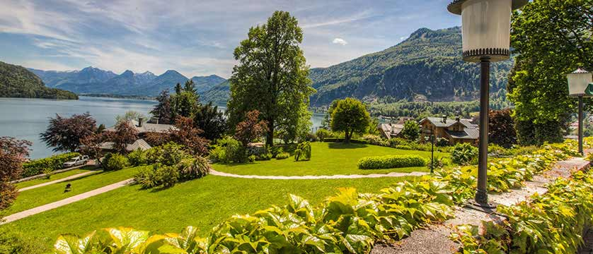 Hotel Billroth, St. Gilgen, Salzkammergut, Austria - view from the hotel.jpg